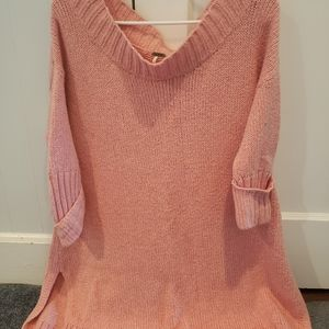Womens off the shoulder sweater